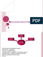 Enager industries inc