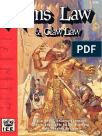 Manuale - Arms Law & Claw Law (Inglese)