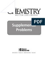 Chemistry Supplemental Problems