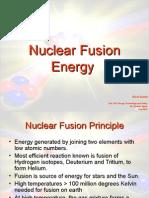 Nuclear Fusion1