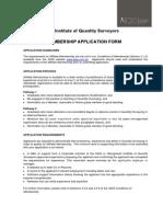 Affiliate Application Form 2015