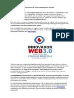 Importancia de Crear Una Web Para Tu Empresa