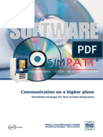 Simpati oven control software discription
