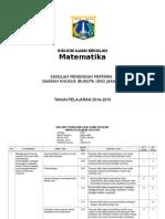 Kisi-kisi Us Matematika Kls 9 2014-2015.. HafidhBlogSpot