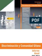 Discriminación y Comunidad Gitana_ INFORME 2013