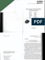 Diccionario Interdisciplinar de Hermeneutica