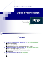 Digital System Design (2015)