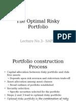 Optimal RiskyPortfolios
