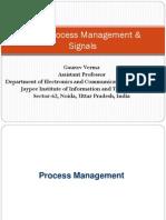 Linux Process Management & Signals