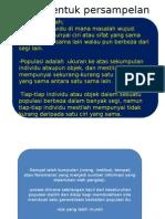 Presentation Persampelan