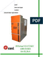 Sarel Sysclad Primary Switchgears 12 175kv