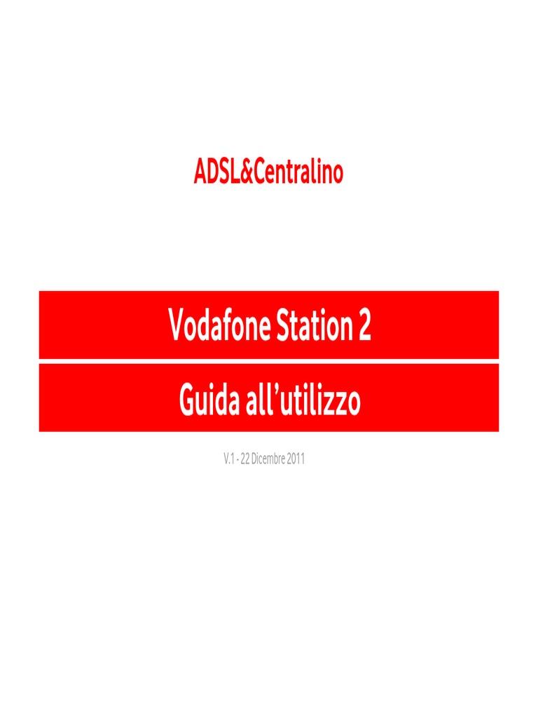 da uploaded con vodafone station