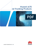 Huawei ELTE Broadband Trunking Products