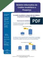 Estatística Abecip Crédito Imobiliário 2013 - 2014