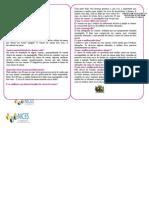 Folder - Câncer de Mama PMI