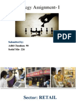 Brand Strategy Assignment- I (Aditi Chauhan & Sadaf Mir)
