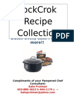 Rock Crok E-cookbook 2014