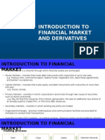 Week 1 Introduction to Financial Market and Derivatives