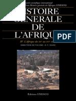Histoire Générale de l'Afrique, T4