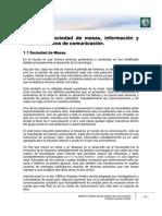 Lectura 1 - VF Sociedad de Masas, Información y Medios Masivos de Comunicación