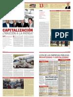 Sobre la capitalización en Bolivia