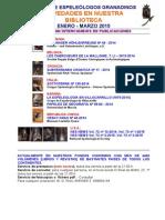 2015 -1 - Novedades Biblioteca