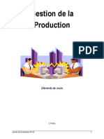 Gestion de Production
