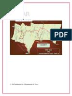 longitudes de las redes departamentales, fundamentales y municipales de bolivia