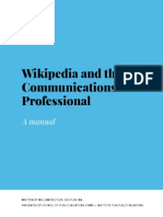 Wikipedia and the Communications Professional