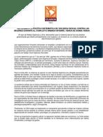 Pronunciamiento de CLADEM Perú sobre sentencia de la CIDH a favor de Gladys Espinoza