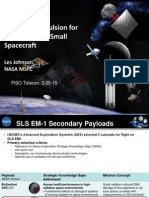 Solar Sail Propulsion for Interplanetary Cubesats