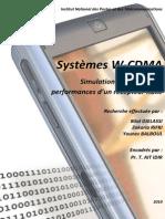 Système WCDMA - Simulation Du Récepteur RAKE