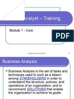 Business Analyst – Training PPT Day 2
