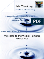 Visible Thinking Outreach Workshop - Nora & Roula