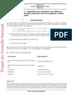 Gases Do Efeito Estufa — Requisitos Para Organismos de Validação e