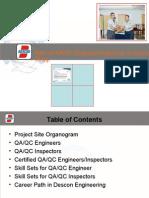 Role of QAQC Eng.