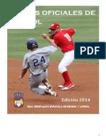 Reglas Oficiales Beisbol 2014 v1