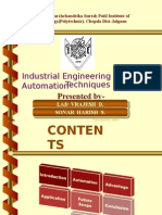 Industrial Engineering and Automation Tech.