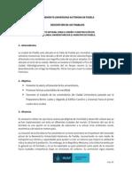 Descripción de Los Trabajos-parque Lineal Universitario