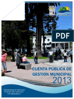 Cuenta Pública 2013 Final