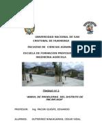 Arbol de Objetivos, Grupo Pacaycasa