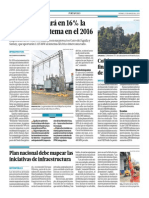 27-3-15 El Comercio - Inkia Aumentará en 16% La Energía Del Sistema en El 2016