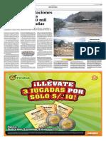 28-3-15 El Comercio - Lluvias e Inundaciones en Tres Regiones Dejan Más de 20 Mil Personas Afectadas