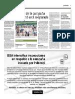 30-3-15 Gestión - Minagri El 90% de La Campaña Agrícola 2015-2016 Está Asegurada