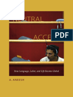 Neutral Accent by A. Aneesh