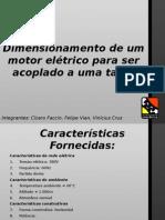 Dimension Amen to Motor Eletric Otal Ha