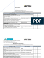 Lista de Chequeo Para Implementar y Evaluar El Pamec