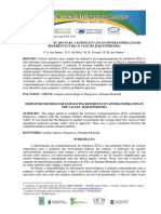 Método Simplificado Para a Estimativa Da Evapotranspiração de Referência Para o Vale Do Jequitinhonha