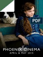 Phoenix Cinema Brochure April & May