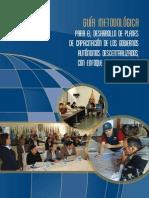 Guia Metodologica Planes Capacita AME